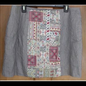 4 Love and Liberty Johnny Was CIEL Skirt Large